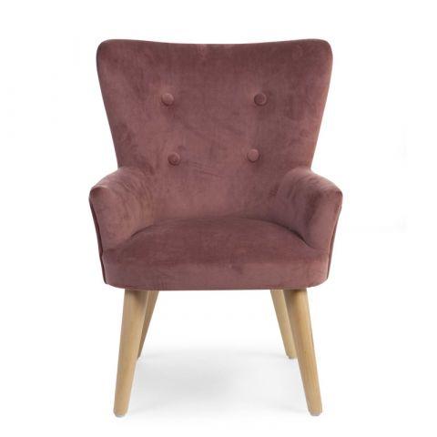 Childhome fotel do pokoju dziecięcego Velvet Rosa
