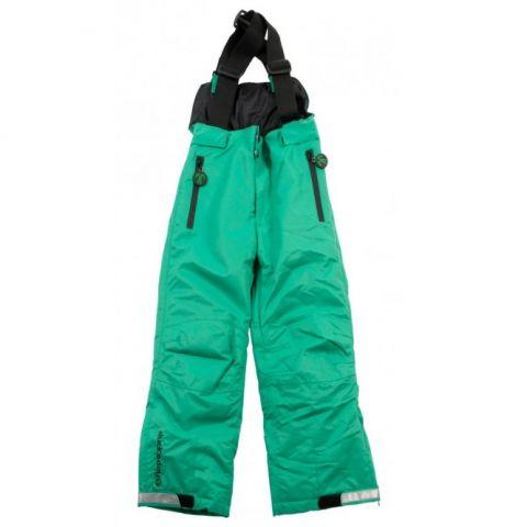 DUCKSDAY spodnie zimowe z szelkami green 04Y