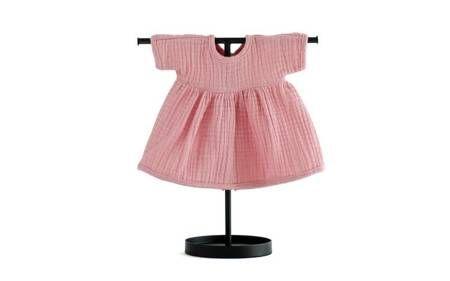 Sukienka dla lalki różowa