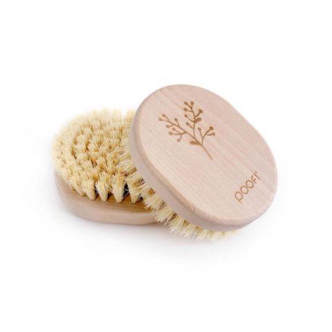 szczotka twarda do masażu skóry na sucho poofi