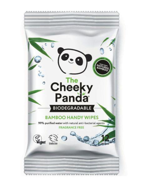 THE CHEEKY PANDA nawilżane chusteczki bambusowe 12 szt.