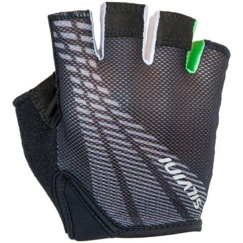 Rękawiczki rowerowe dziecięce SILVINI junior TEAM 9-10 czarno-zielone