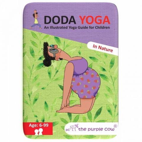 The Purple Cow Karty Doda Yoga Natura wer. ang
