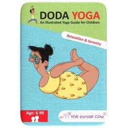 The Purple Cow Karty Doda Yoga Relaks i Spokój wersja angielska