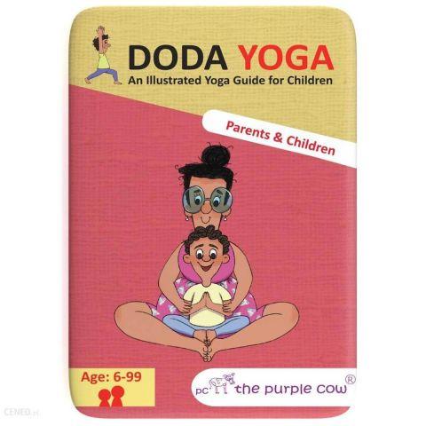 The Purple Cow Karty Doda Yoga Rodzice i Dzieci