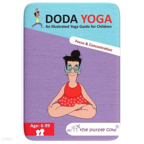 The Purple Cow Karty Doda Yoga Skupienie i Konce