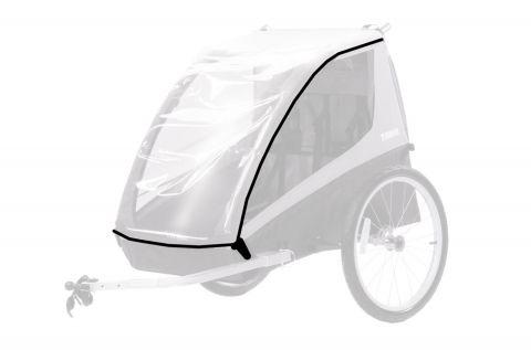 pokrowiec przeciwdeszczowy do przyczepki rowerowej THULE Coaster