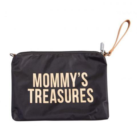 Torebka dla mamy Mommy's Treasures Childhome Czarno-złota