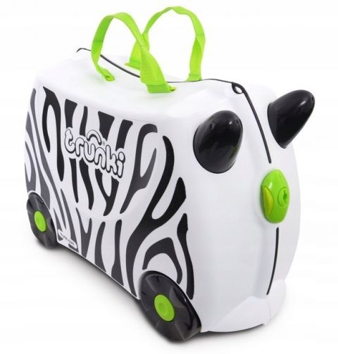 Walizka Trunki Zebra