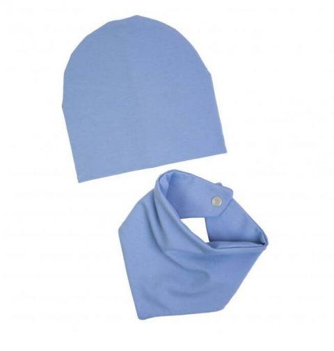 UL&KA komplet czapka i apaszka BABY BOY
