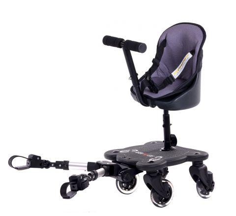 Easy X Rider V4 2w1 dostawka do wózka uniwersalna - 4 kółka!