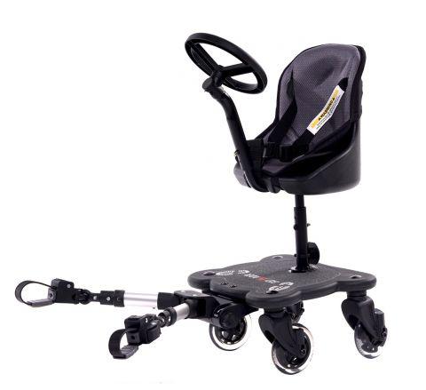Easy X Rider V5 2w1 dostawka do wózka z kierownicą - 4 kółka!