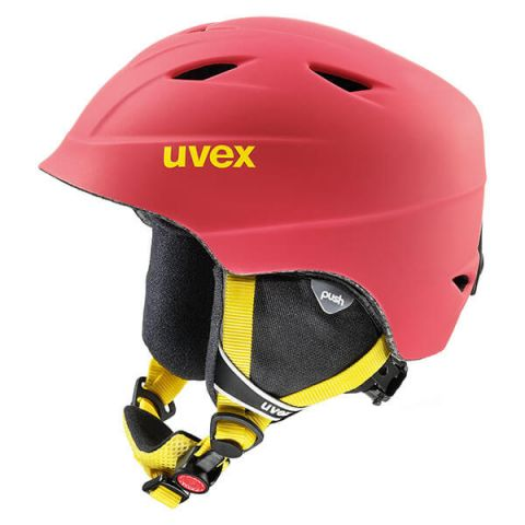 Uvex Kask narciarski Airwing PRO 2 CHILIRED MAT 52-54