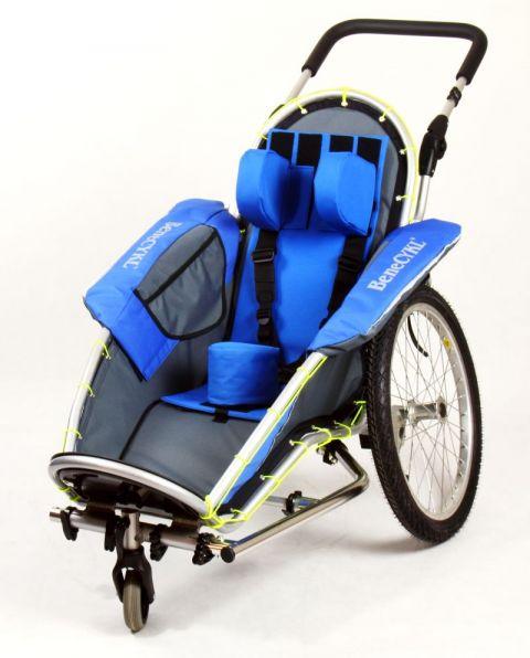 Wózek Kozlik Baby Country - kolor niebieski