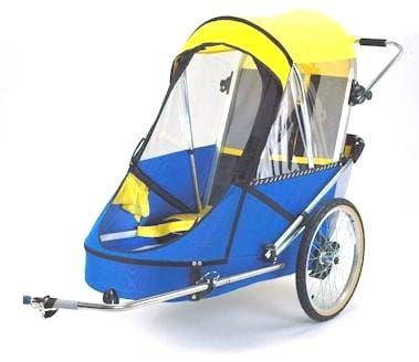 przyczepka rowerowa dla osób niepełnosprawnych Wike X Large