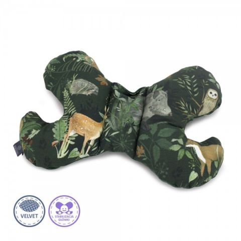 poduszka antywstrząsowa dla niemowlaka makaszka
