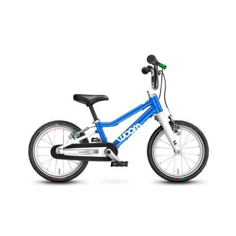 Najlżejszy rower dziecięcy Woom 2 Niebieski