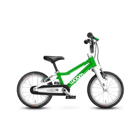 Najlżejszy rower dziecięcy Woom 2 Zielony
