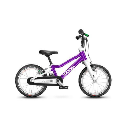 Najlżejszy rower dziecięcy Woom 2 Fioletowy
