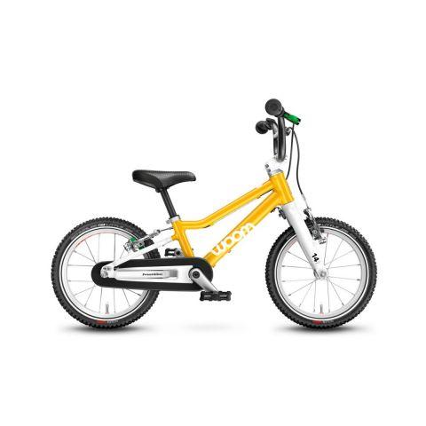 Najlżejszy rower dziecięcy Woom 2 Żółty