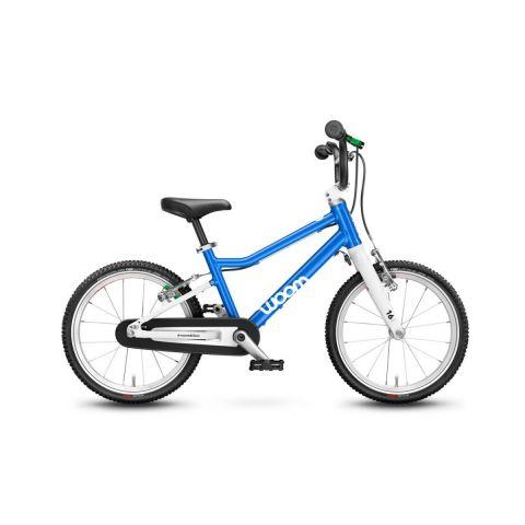 Najlżejszy rower dziecięcy 16 calowy Woom 3 Niebieski