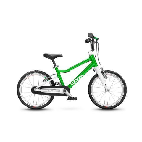 Najlżejszy rower dziecięcy 16 calowy Woom 3 Zielony