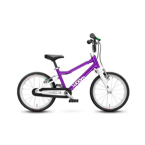 Najlżejszy rower dziecięcy 16 calowy Woom 3 Fioletowy