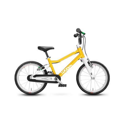 Najlżejszy rower dziecięcy 16 calowy Woom 3 Żółty