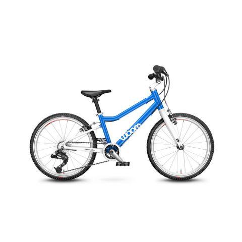 Najlżejszy rower dziecięce Woom 4 Niebieski