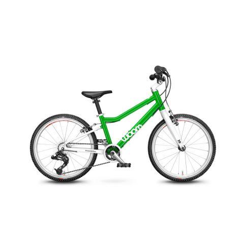 Najlżejszy rower dziecięce Woom 4 Zielony