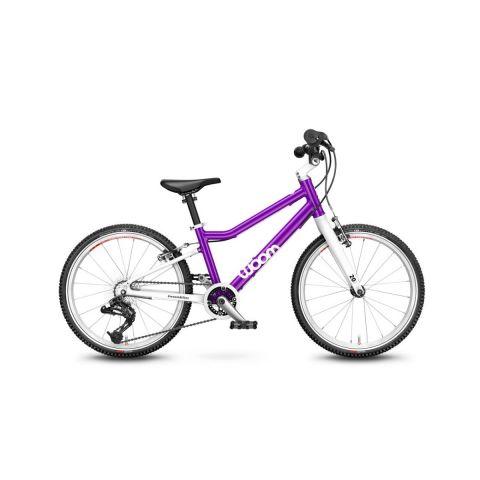 Najlżejszy rower dziecięce Woom 4 Fioletowy
