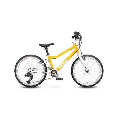 Najlżejszy rower dziecięce Woom 4 Żółty