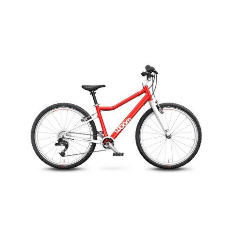Rower 24 calowy Woom 5 Czerwony