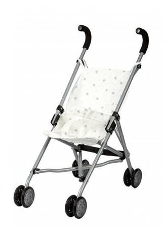 wózek dla lalek spacerówka beżowa