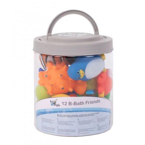 zestaw zabawek do kąpieli w poręcznym wiaderku