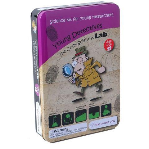 Zestaw do robienia eksperymentów The Purple Cow - Młody detektyw
