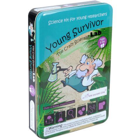 Zestaw do robienia eksperymentów The Purple Cow - Szkoła przetrwania