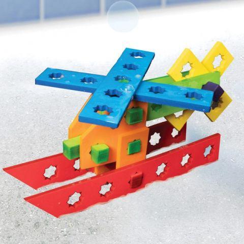 BathBlocks - Zabawka do kąpieli Zestaw klocków kon
