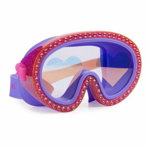 Bling2o Maska do pływania z gwiazdami malinowa