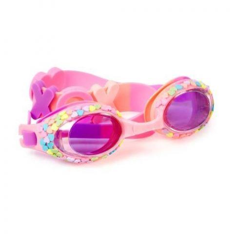 Bling2o Okularki do pływania pastelowe serca 3+
