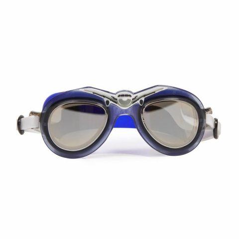 Bling2o Okularki do pływania aviatory błękitne